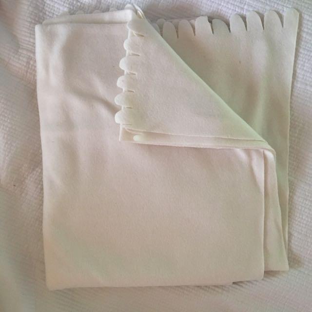 White IKEA Blanket