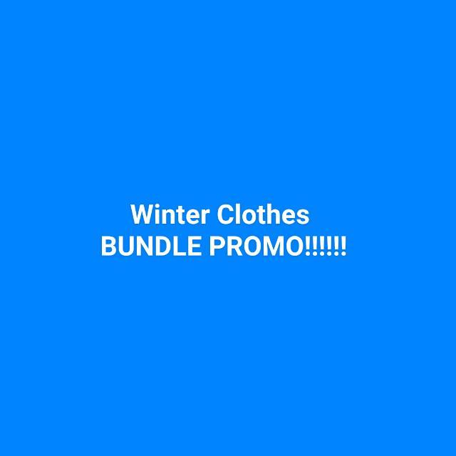 Winter Clothes BUNDLE PROMO