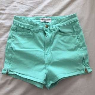 American Apperal High Waisted Shorts
