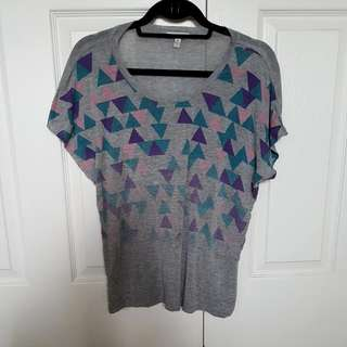Forever 21 Triangle Pattern Shirt