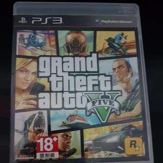PS3 Grand Theft Auto 5