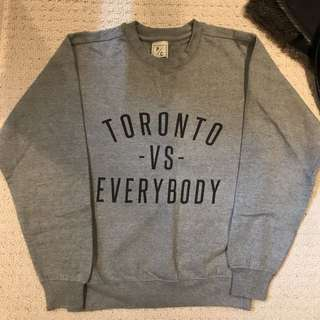 Original Peace Collective Toronto Vs Everybody Pullover