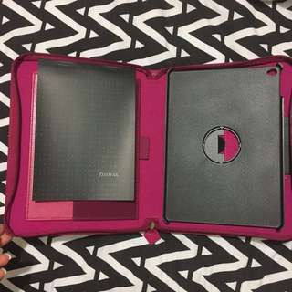 NEW Ipad Air 2 Pink Filofax