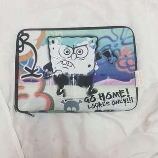 Spongebob Laptop Case 💕