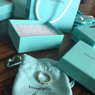 Tiffany and co Atlas ring