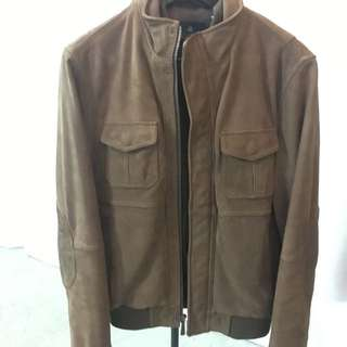 Brooks Brothers Pilot Leather Jacket