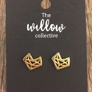 Gold Geometric Fox