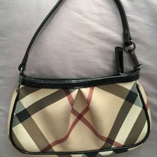Authentic Burberry Small Aston Handbag