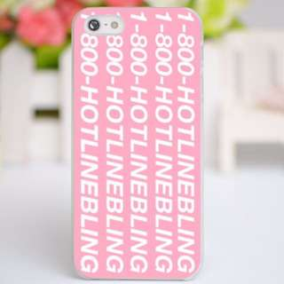 1-800 Hotline Bling iPhone 5/5S, 6/6S, 6+/6S+, Samsung S5, S6 Case