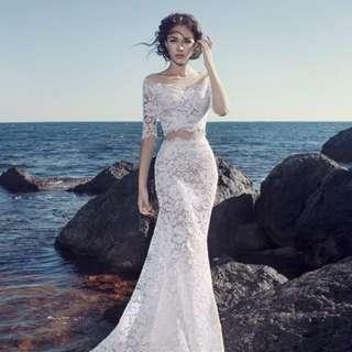 Tailored Wedding Dress
