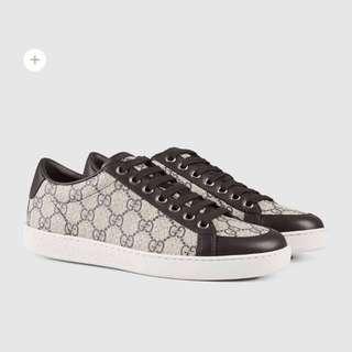Brooklyn GG Supreme canvas sneaker - SIZE 51/2