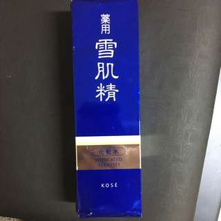 Kose Medicated Sekkisei Toner