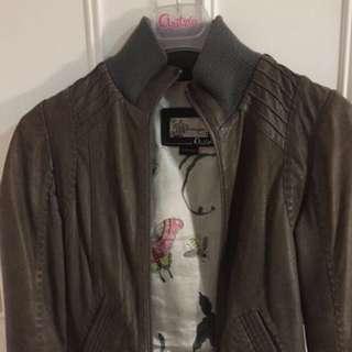 Aritzia Leather Jacket