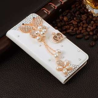 Wallet Case Rhinestone Leather iPhone Cases Cover For Case A9 For iPhone 5 5s se, iphone 7, iphone 7plus, iphone 6 6s, and iphone 6s plus