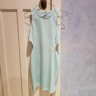 The Vintage Shop Cutout Dress
