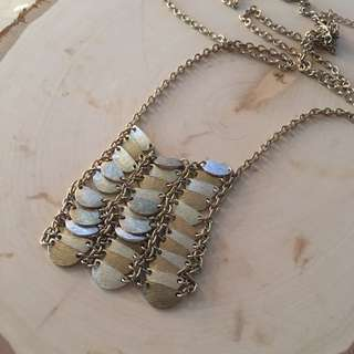 Long Tiered Necklace