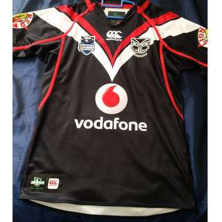 Vodafone Warriors NRL supporters jersey