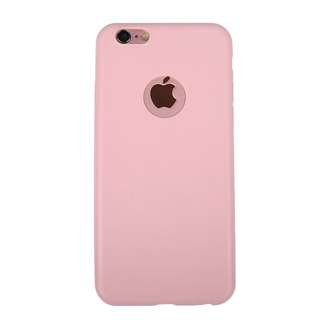 Pink Colour Silicon Cover Slim Silica Gel Phone Case for Apple iPhone 6/6S 7 Pink