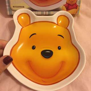 迪士尼授權 小熊維尼造型盤