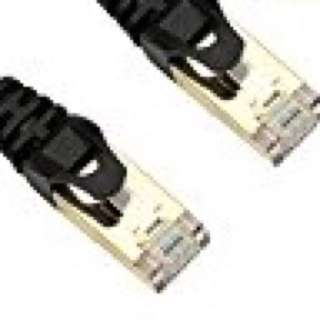 👍iCreatin-CAT 7 支援10 Gigabit 600MHz Ethernet Patch Cable, 3,7 Feet Black美國入口