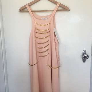 New Ministry Of Style Peach Maxi