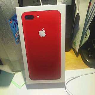 (PRODUCT) RED IPHONE 7PLUS 128GB