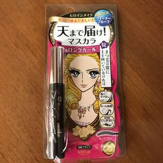 ISEHAN HEROINE MAKE Long and Curl Black Mascara (Ready stock, limited 2 pieces only!!)