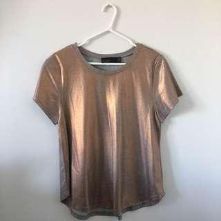 Rose Gold Tee Shirt