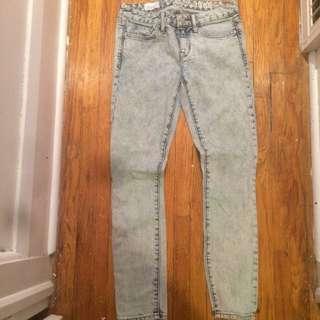 Gap Always Skinny Acid Wash Vintage Jean
