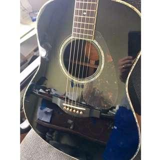 Yamaha Acoustic Guitar LL16D A.R.E (black)