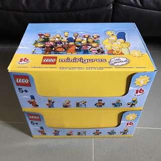 Lego Mini Figures The Simpsons 71009(一盒有60隻)