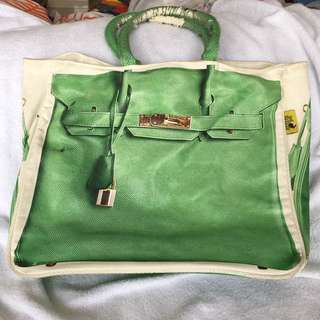Banane Bag Canvas Bag Hermes Bag Kanvas Print Bag Tas Wanita