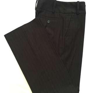 Cue Pinstripe Pants 8