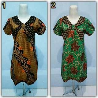 Dress Batik Model Dasi