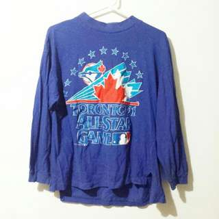 VINTAGE BLUE JAYS SHIRT