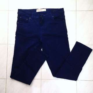 Connexion Blue Skinny Jeans