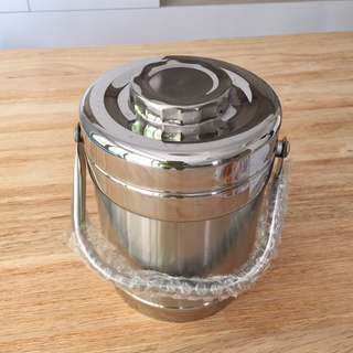 Brand New KUKERI Double Wall Stainless Steel Vacuum Food Carrier