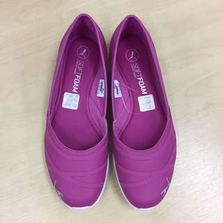 Puma Casual Soft Foam Shoes In Magenta