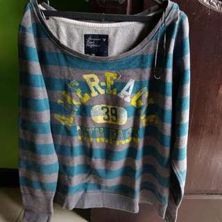 Sweter Blue And Grey