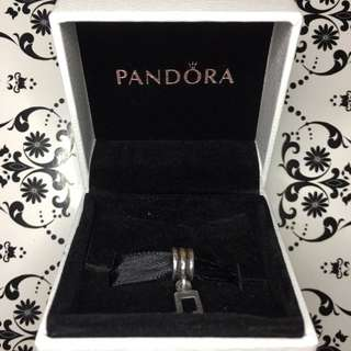 Pandora Dangling Music Note Charm