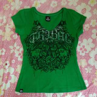 Tribal V-neck
