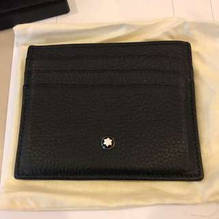 (Brand New) Mont Blanc Soft Leather Wallet