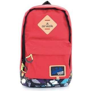 Airwalk iPad Backpack - Red