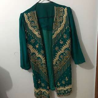Long Embroidered Over Top