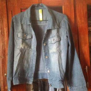 jacket jeans/denim panjang