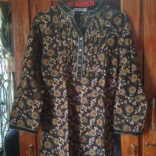 baju motif bunga like new