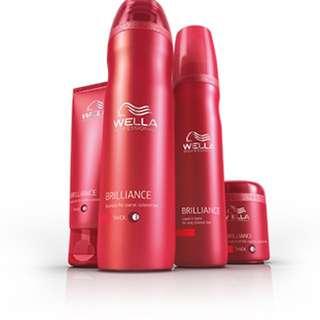 Wella Brilliance Colour Shampoo / Conditioner