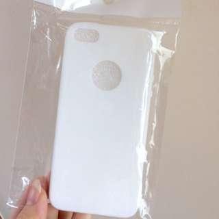 Apple hole Soft case Iphone 5 / 5s / SE warna putih