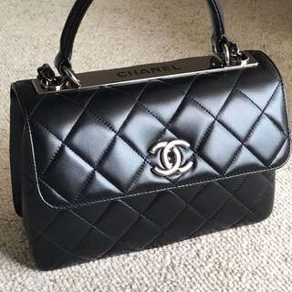 Chanel CC Flap Handle Bag