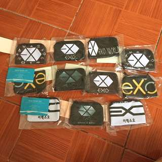 Exo Purses With Free Sticker